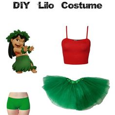 Diy Lilo Costume #party #partyideas  #PartyTime Diy Lilo Costume, Stitch Halloween Costume, Diy Halloween Costumes For Women, Cute Costumes, Halloween Outfits, Easy Disney Costumes, Lelo And Stitch Costumes, Disfraz Lilo Y Stitch, Halloween Kleidung