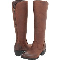 16 1/2 inch, real leather, back zip -- Born Bitsy Boot $210
