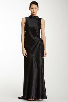 Draped Dress by MAXSTUDIO.COM