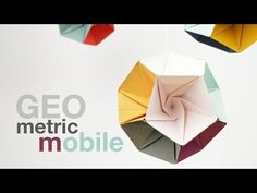 How to make a Geometric Mobile (DIY Tutorial) - YouTube