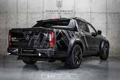 Carlex Design got its hands dirty again, and this time around the victim is the Mercedes-Benz X-Class, an already beastly off-road-ready Custom Mercedes, Mercedes 500, Mercedes Benz Amg, Ford Ranger Wildtrak, Vehicle Signage, Mercedez Benz, Nissan Navara, Vans, Off Road