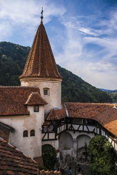 Bran Castel inside view from Romania