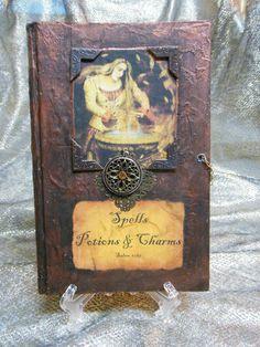 Wedding Invite Inspiration (mini spell book invites)