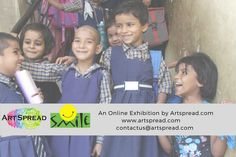 #SmileWithArtspread An Online Art Exhibition by artspread.com. Join us in spreading smiles on many little faces by being a part of this initiative. View more at http://artspread.com/art-event.html?eid=1 #Artspread #SmileFoundation #OnineArtExhibition #CharityEvent #SupportUnprivilegedChildren