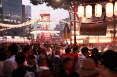 【バンタン】「第63回 恵比寿駅前盆踊り大会」のアルバムを公開!