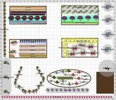 Garden Plan - 2013: HAVE JUST PLANNED THE VEG PATCH WITH THE GARDEN PLAN PRO APP...........