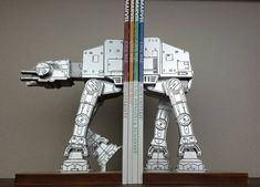 These Star Wars Bookends Are Extremely Shelfworthy