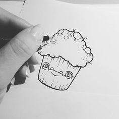 Dirty Cupcake. .. hmmmmmm :) #cupcake #lineart #drawing #comicart #smietz #sketch #fabercastell #artwork