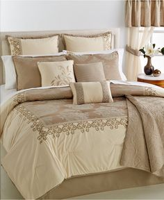 CLOSEOUT! Westhaven 22-Pc. Queen Comforter Set - Bed in a Bag - Bed & Bath…