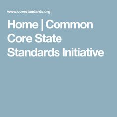 A look at the standards themselves. It is important to know what is being expected of teachers and students alike.