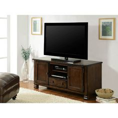 "Summit Mountain TV Stand for TVs up to 50"", Multiple Finishes $159"