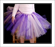 Tutu Up Close-How to make a tutu ;)