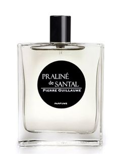 Praline de Santal, a limited edition introduced in early 2011, is a powdery woody - gourmand perfume that contains notes of heliotrope, sandalwood, hazelnut, cedar and cashmere. The nose of the compositions is Pierre Guillaume. Available as 50 ml EDP.