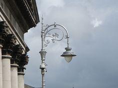 Lamp posts in Dublin. So wonderful...