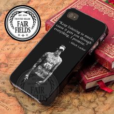 Mitch Adam Lucker Quote  iPhone 4/4s/5/5s/5c Case  by Fairfields, $15.00
