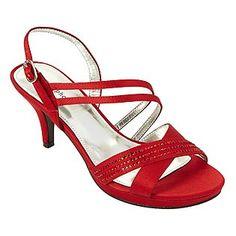 Red Short Heels