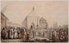 Sejmik przed kościołem | FUNDACJA XX. CZARTORYSKICH