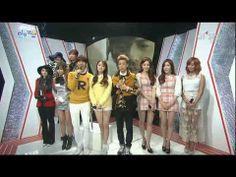[HD] 131201 2NE1, DAVICHI & Hyo Lyn (Sistar) Interview @ Inkigayo