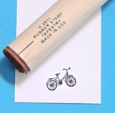 Hey, I found this really awesome Etsy listing at https://www.etsy.com/listing/74078726/cruiser-bicycle-rubber-stamp