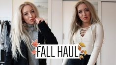 HAUL | Fall Fashion Try-On Haul 2015 #2 (Primark, Missguided, Zara)