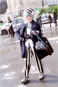 Anna Piaggi fashion icon! #extravagance #eclectic