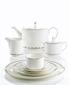Vera Wang Wedgwood Dinnerware, Flirt Collection - Fine China - Dining & Entertaining - Macy's Bridal and Wedding Registry