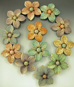 Flora Beads by BARB FAJARDO | Polymer Clay Planet