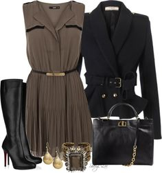 """""""Shirt Dress"""" by sheryl-lee ❤ liked on Polyvore"""