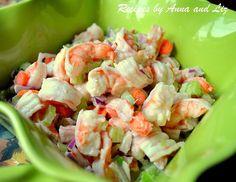 EASY Italian Shrimp Salad