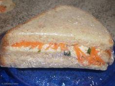 Sanduíche natural da Jú... simples e delicioso... experimente!!!  :-)