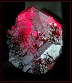 "gorgeousgeology: "" This is a very large and perfect Cuprite crystal from the Red…"