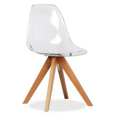 silla wooden star clear edition sillas de plstico sillas de diseo