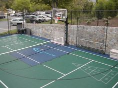 Basketball Courts Near Me Info: 3047193235 Duke Basketball Tickets, Fsu Basketball, Basketball Shoes On Sale, Backyard Basketball, Outdoor Basketball Court, Hockey, Basketball Information, Landscape Architecture, Tennis