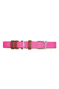 """Pretty up your furriest companions with our new pet collar. Slip on their name or intials, or Keys that will remind you of their best attributes when they are being naughty. Fits necks 7-11"""" and up to 20 lbs."""