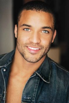 black beauty with flawless features. should be man of the year. black is beautiful.