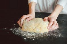 Zdjęcie Jak zrobić IDEALNE ciasto na pierogi! - 10 cennych zasad! (+ przepis podstawowy) #3 Cooking Recipes, Healthy Recipes, Dim Sum, Dumplings, Cake Recipes, Food And Drink, Bread, Cheese, Baking