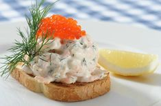 How To Make Toast Skagen (Swedish Shrimp Salad)