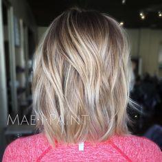 """Blunt•rooty blonde #maeipaint"""