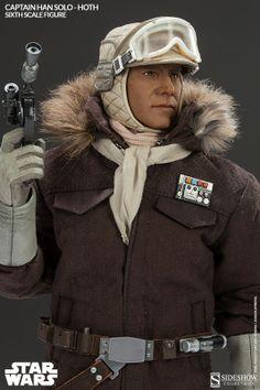 Sixth Scale Figure - Captain Han Solo - Hoth #2134