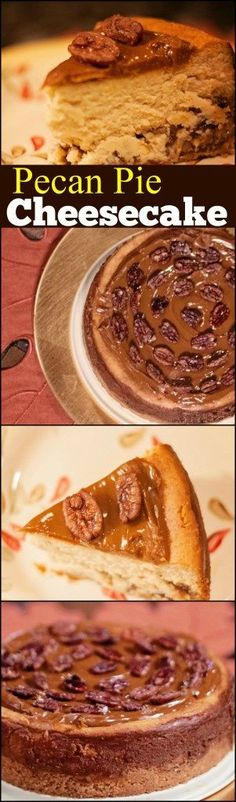 This Pecan Pie Cheesecake is hands down our absolute favorite Thanksgiving Holiday dessert.  It's worth every bit of the extra effort AND calories!  You will knock their socks off with this one!