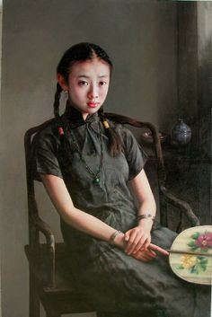 ZHAO KAILIN is one of the most important and critically acclaimed artists of contemporary realism working today, Zhao Kailin is a master painter born in 1961 in Bengbu, in southeastern China.
