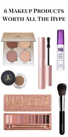 6 Makeup Products That Are Actually Worth All The Hype (And the $$$$)  Here is a list of the some of the trending makeup products that are actually worth all of the hype they get! As well being worth all of the money they cost.