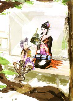 Ranmaru & Nohime