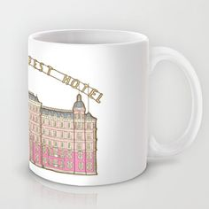 The Grand Budapest Hotel Mug by Evannave - $15.00