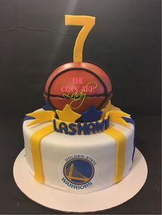 Golden State Warriors cake