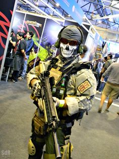 Call of Duty - Ghost #Cosplay