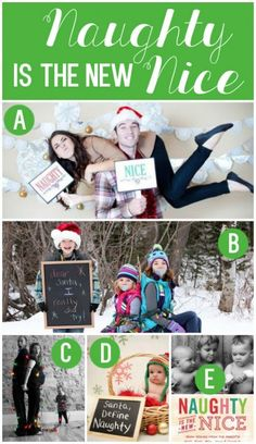 Family Christmas Picture Idea- this is perfect for our family.  lol.