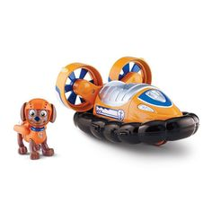 Paw Patrol On-A-Roll Zuma Hovercraft Set by Spin Master, Multicolor