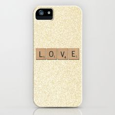 Scrabble Love iPhone Case