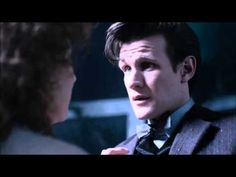 Doctor Who - The farewell of River & The Doctor from The Name of The Doctor (Season 7) - When I first watched River's episodes I wasn't a fan because I loved Rose, but now I love River just as much, if not more than Rose so this makes me really sad. I love River and the Doctor.